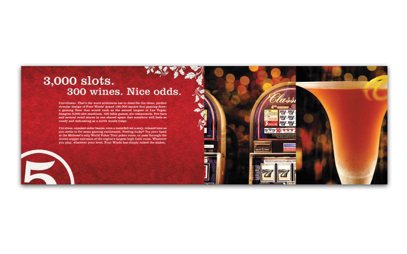 Four Winds Casino Mailer